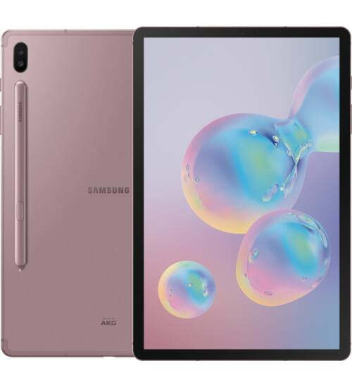 Samsung Galaxy Tab S6 T865N 10.5 128GB LTE rózsaarany, 1 év Gyártói garancia