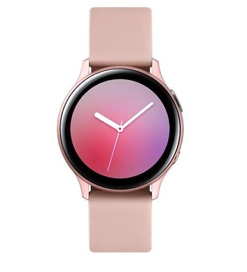 Samsung R830 Galaxy Watch Active 2 40mm alumínium rózsaarany, 1 év Gyártói garancia