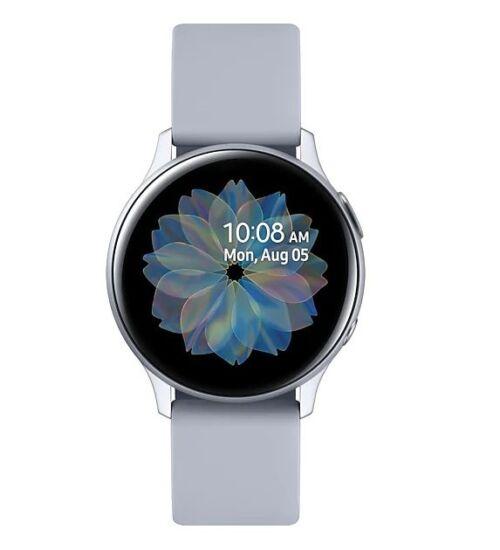 Samsung R830 Galaxy Watch Active 2 40mm alumínium ezüst, 1 év Gyártói garancia