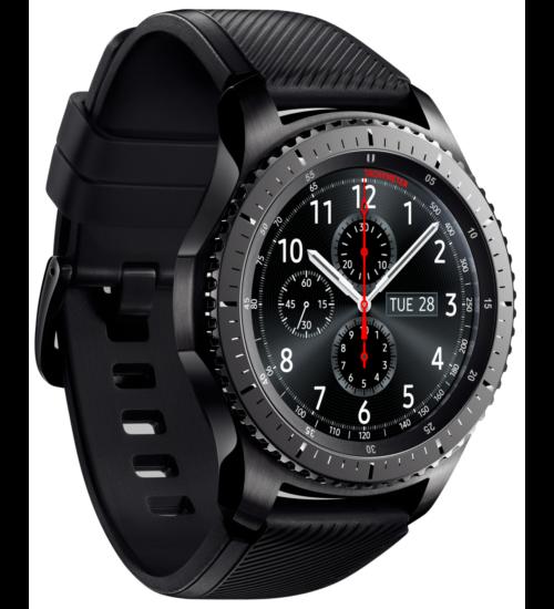 Samsung R760 Gear S3 Frontier fekete, 1 Év Gyártói garancia