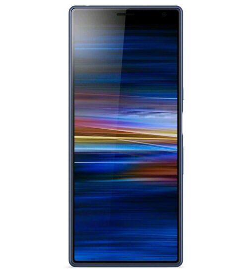 Sony Xperia 10 Plus 64GB 4GB I4213 Dual SIM Kék, Kártyafüggetlen, 2 év gyártói garancia