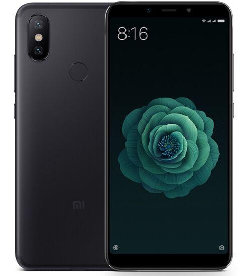Xiaomi Mi A2 4GB 32GB Dual SIM fekete, Kártyafüggetlen, 1 év teljes körű garancia