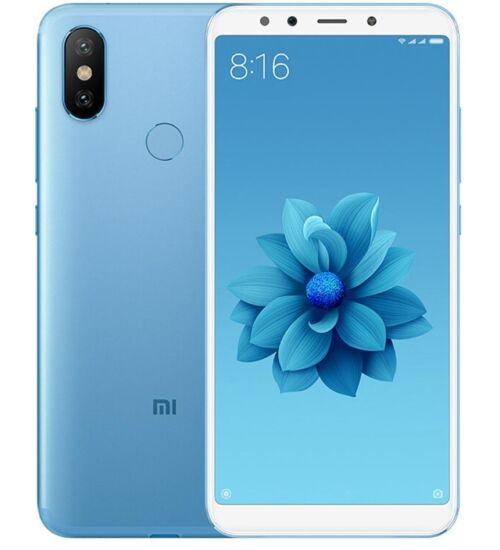 Xiaomi Mi A2 4GB 64GB Dual SIM kék, Kártyafüggetlen, 1 év teljes körű garancia - Globál verzió