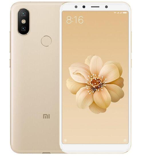 Xiaomi Mi A2 4GB 64GB Dual SIM arany, Kártyafüggetlen, 1 év teljes körű garancia