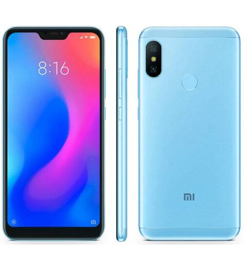 Xiaomi Mi A2 Lite 3GB 32GB Dual SIM kék, Kártyafüggetlen, 1 év teljes körű garancia