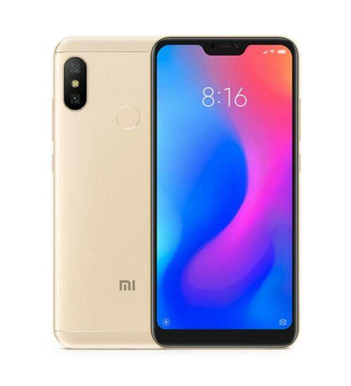 Xiaomi Mi A2 Lite 4GB 64GB Dual SIM arany, Kártyafüggetlen, 1 év teljes körű garancia - Globál verzió