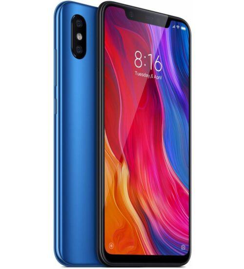 Xiaomi Mi 8 6GB 64GB Dual SIM kék, Kártyafüggetlen, 1 év teljes körű garancia