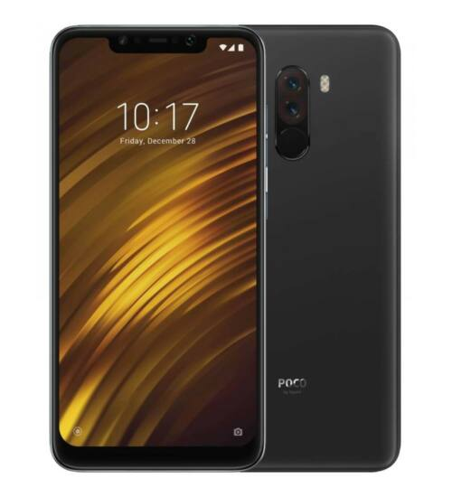 Xiaomi Pocophone F1 64GB Dual SIM fekete, Kártyafüggetlen, 1 év teljes körű garancia