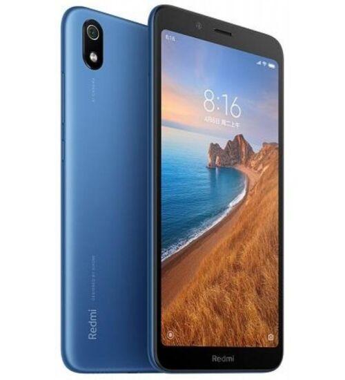 Xiaomi Redmi 7A 2GB 16GB Dual SIM kék, Kártyafüggetlen, 1 év teljes körű garancia