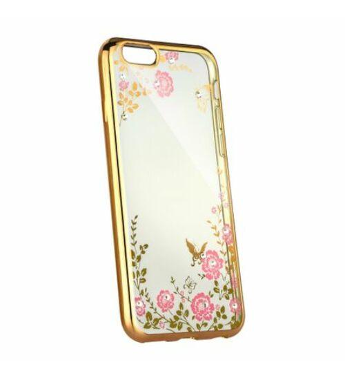 Forcell Diamond tok iPhone SE készülékhez, arany