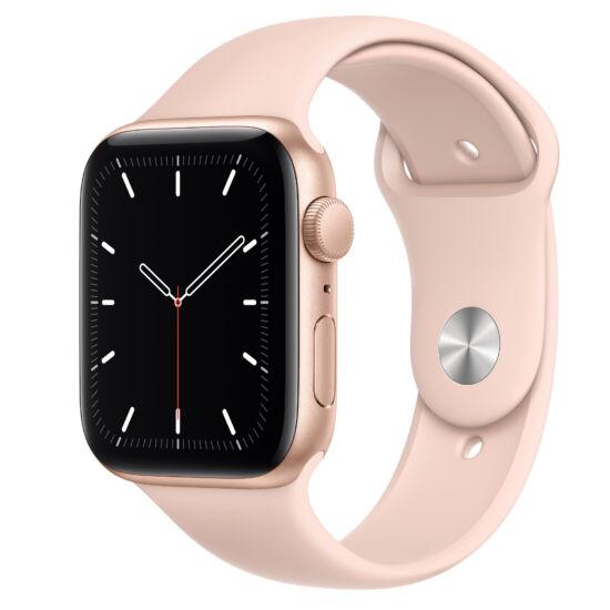 Apple Watch SE GPS 40mm arany alumínium tok pink sportszíjjal