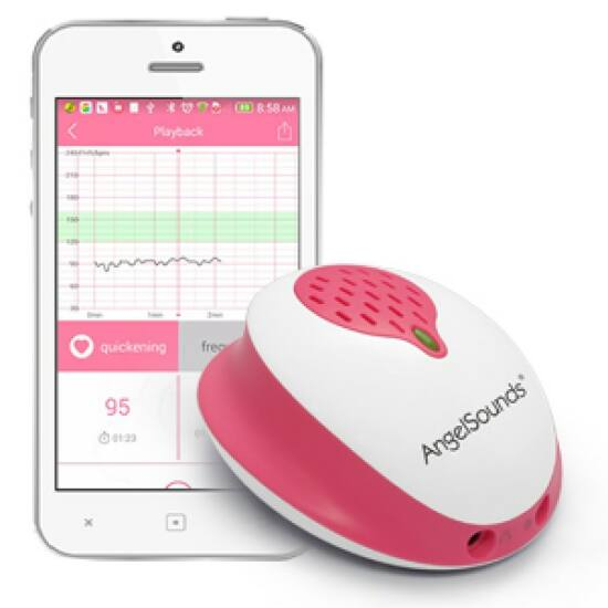 Angelsounds S2/200S magzati szívhang hallgató okostelefonhoz