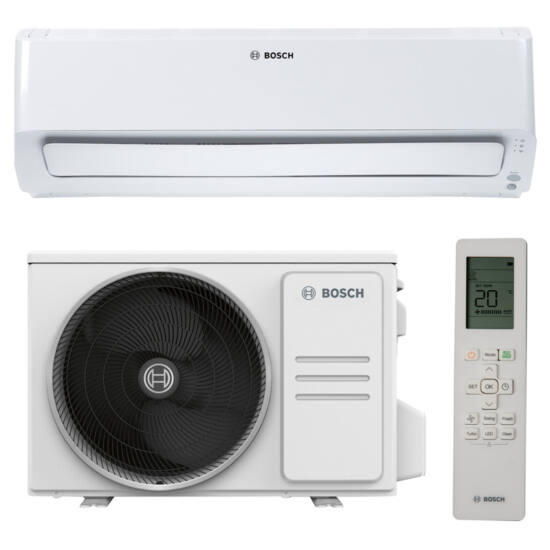 Bosch Climate CL8001i 35E Inverteres Split Klíma Szett, fehér 3,5 kW