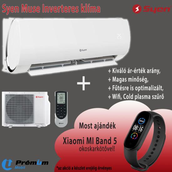 Syen Muse SOH18MU-E32DA1D Inverteres Oldalfali Split Klíma, WIFI, 5,2 kW
