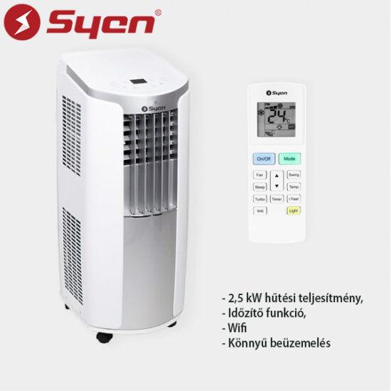Syen SHC09SH-E90NA3A Mobil klíma, Wifi, 2,5 KW