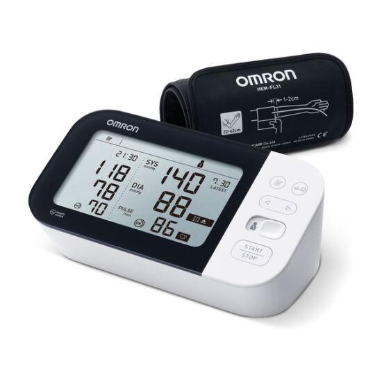 """Omron M7 Intelli IT Intellisense """"okos"""" felkaros vérnyomásmérő AFib üzemmóddal, Bluetooth"""