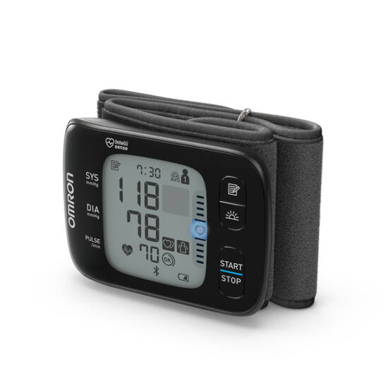 Omron RS7 Intelli IT Intellisense csuklós okos-vérnyomásmérő, Bluetooth