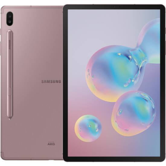 Samsung Galaxy Tab S6 T860N 10.5 128GB Wifi rózsaarany, 1 év Gyártói garancia
