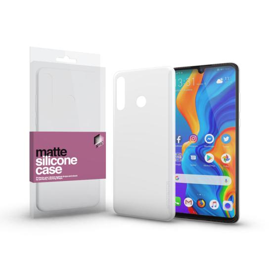 Xpro szilikon tok Huawei P30 Lite készülékhez Matt fehér