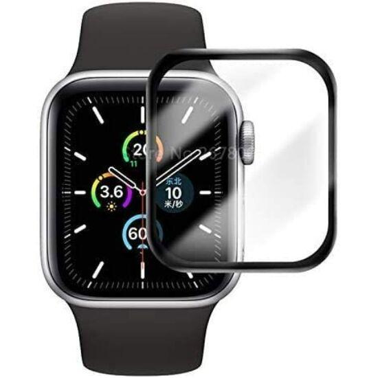 Glass Pro ragasztós kijelzővédő full fólia Apple Watch 44 mm készülékhez