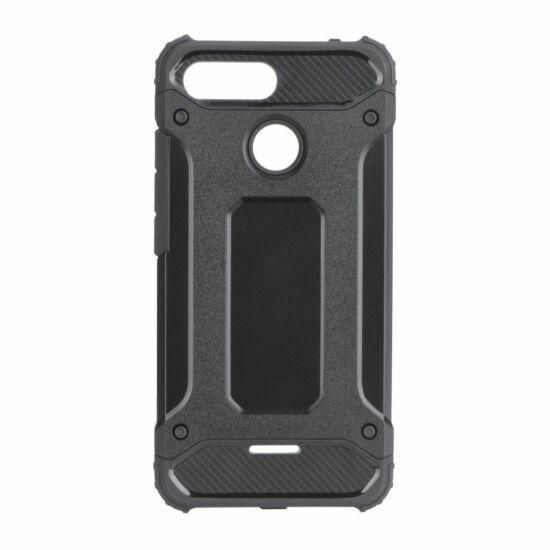 Forcell ütésálló tok iPhone SE készülékhez, fekete