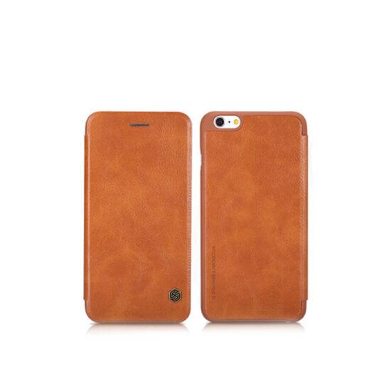 Nillkin QIN tok iPhone X készülékhez, barna