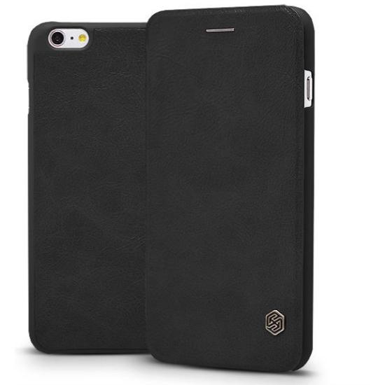 Nillkin QIN tok iPhone X készülékhez, fekete