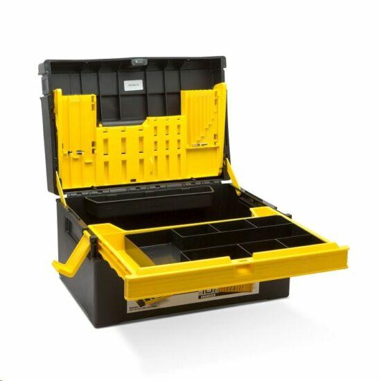 Handy WASP Műanyag szerszámosláda 380 x 220 x 270 mm (10946A)