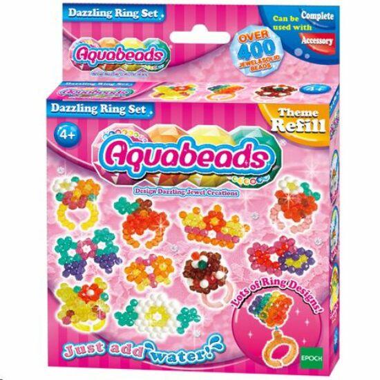 Flair Toys Aqua Beads: Káprázatos gyűrű készlet kreatív gyöngy (20FLR79278)