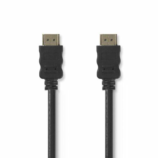 Nedis HDMI kábel HDMI csatlakozó - HDMI csatlakozó 10m fekete (CVGT34000BK100)