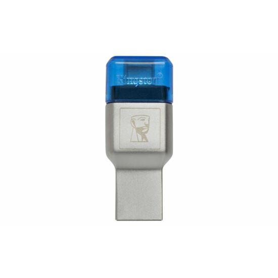 Kingston kártyaolvasó MobileLite Duo USB 3.1+Type C (FCR-ML3C)