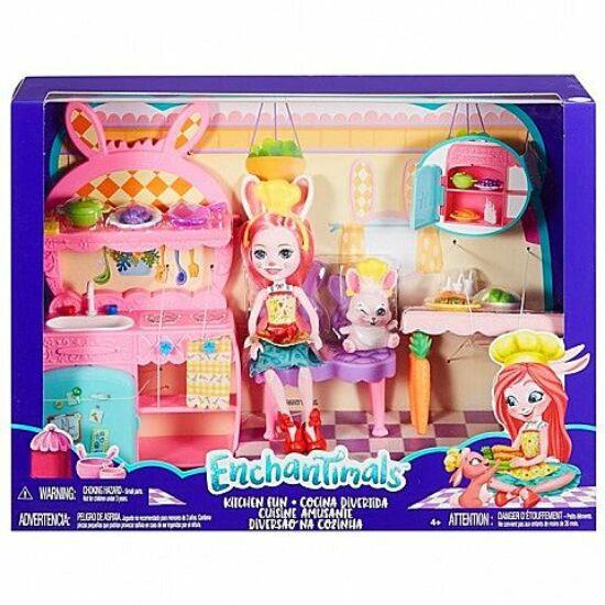 Mattel Enchantimals: Konyhai móka játékszett  (FRH44/FRH47)