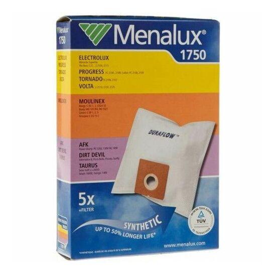 Menalux 1750 szintetikus porzsák 5db