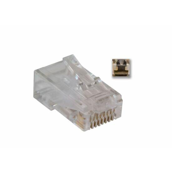 Rainbow UTP csatlakozó dugó CAT5E 100 db (UTD5880)